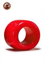 Balls-XL Ballstretcher - rouge - La référence des ball-stretchers, version grande taille,  100% silicone Platinum, marque Oxballs, coloris rouge.