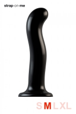 Dildo point P et G taille M - Strap On Me : Gode 100% silicone hommes et femmes, taille M, conçu pour stimuler le point G ou le point P, compatible harnais Strap-On-Me.