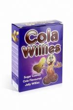 Bonbons zizi au cola - Cola Willies : 150 g de bonbons au gout Cola, des bonbons pour adultes en raison de leur forme de zizi.