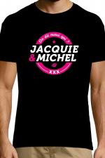 T-shirt Jacquie & Michel n°4 - Le Tee-shirt exclusif (visuel 4) à l'effigie de  Jacquie & Michel, votre site amateur préféré.