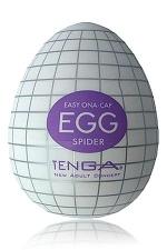 Tenga Egg Spider - Egg Spider, votre piège à plaisir! un masturbateur de nouvelle génération  en forme d'oeuf, signé Tenga.
