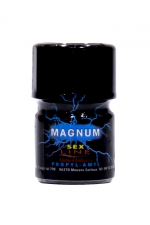 Poppers Sexline Magnum Bleu 15ml : Grâce à sa large ouverture, le poppers Sex Line bleu Magnum hybride amyle + propyle a un effet ultra fort et intense.